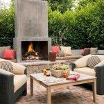Ultimate Backyard Fireplace Sets The Outdoor Scene 147