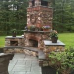 Ultimate Backyard Fireplace Sets The Outdoor Scene 148
