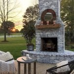 Ultimate Backyard Fireplace Sets The Outdoor Scene 153
