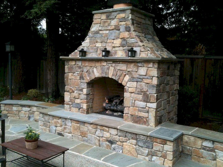 Backyard Fireplace053