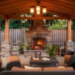 Ultimate Backyard Fireplace Sets The Outdoor Scene 156