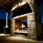 Ultimate Backyard Fireplace Sets The Outdoor Scene 158