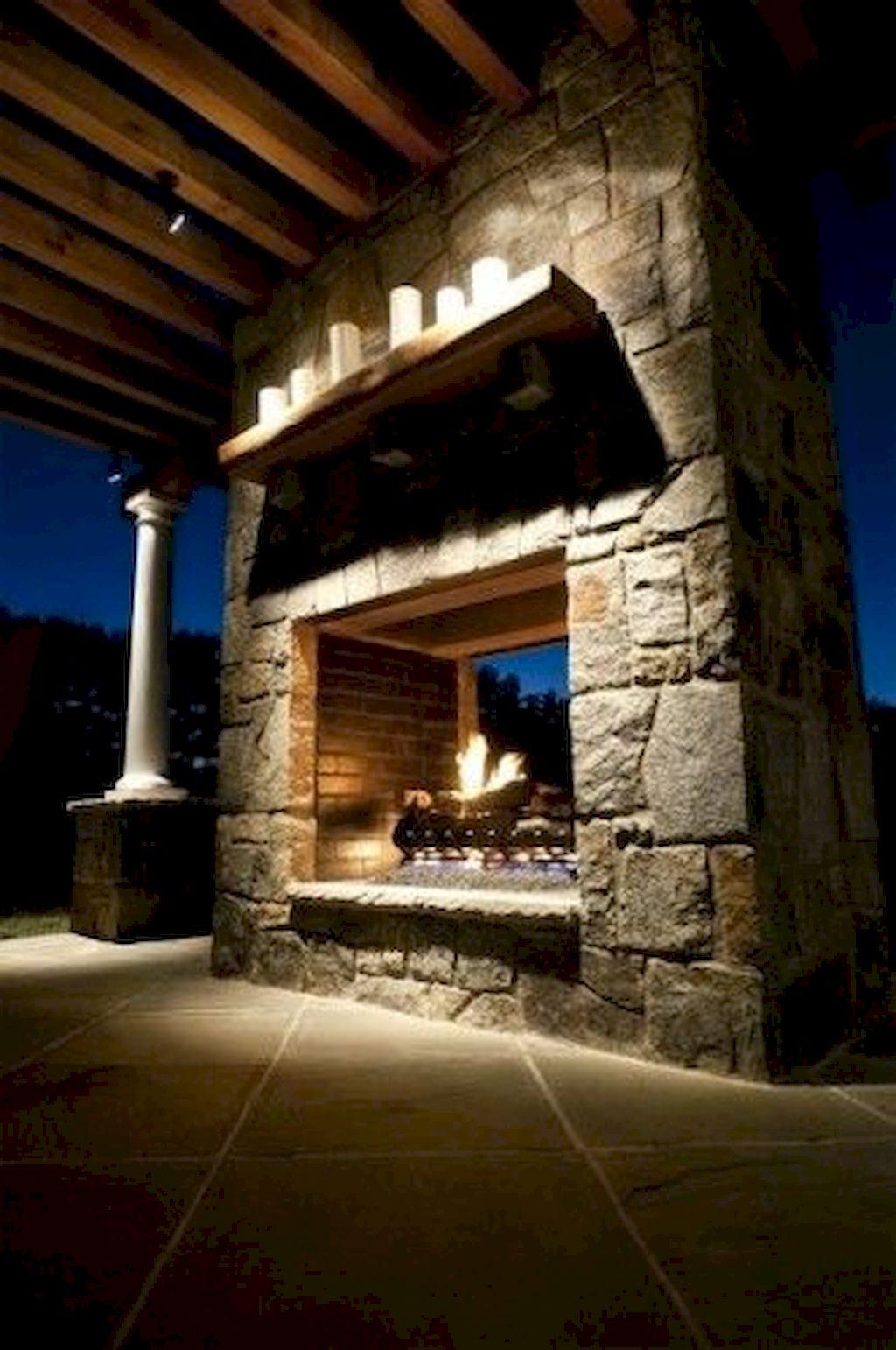 Backyard Fireplace056