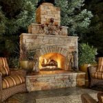 Ultimate Backyard Fireplace Sets The Outdoor Scene 159