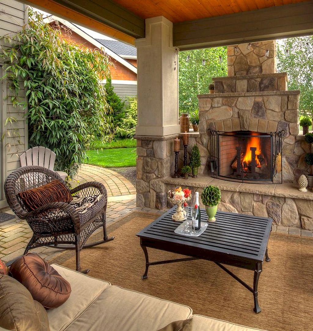 Backyard Fireplace068