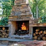 Ultimate Backyard Fireplace Sets The Outdoor Scene 10