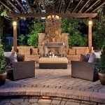 Ultimate Backyard Fireplace Sets The Outdoor Scene 11