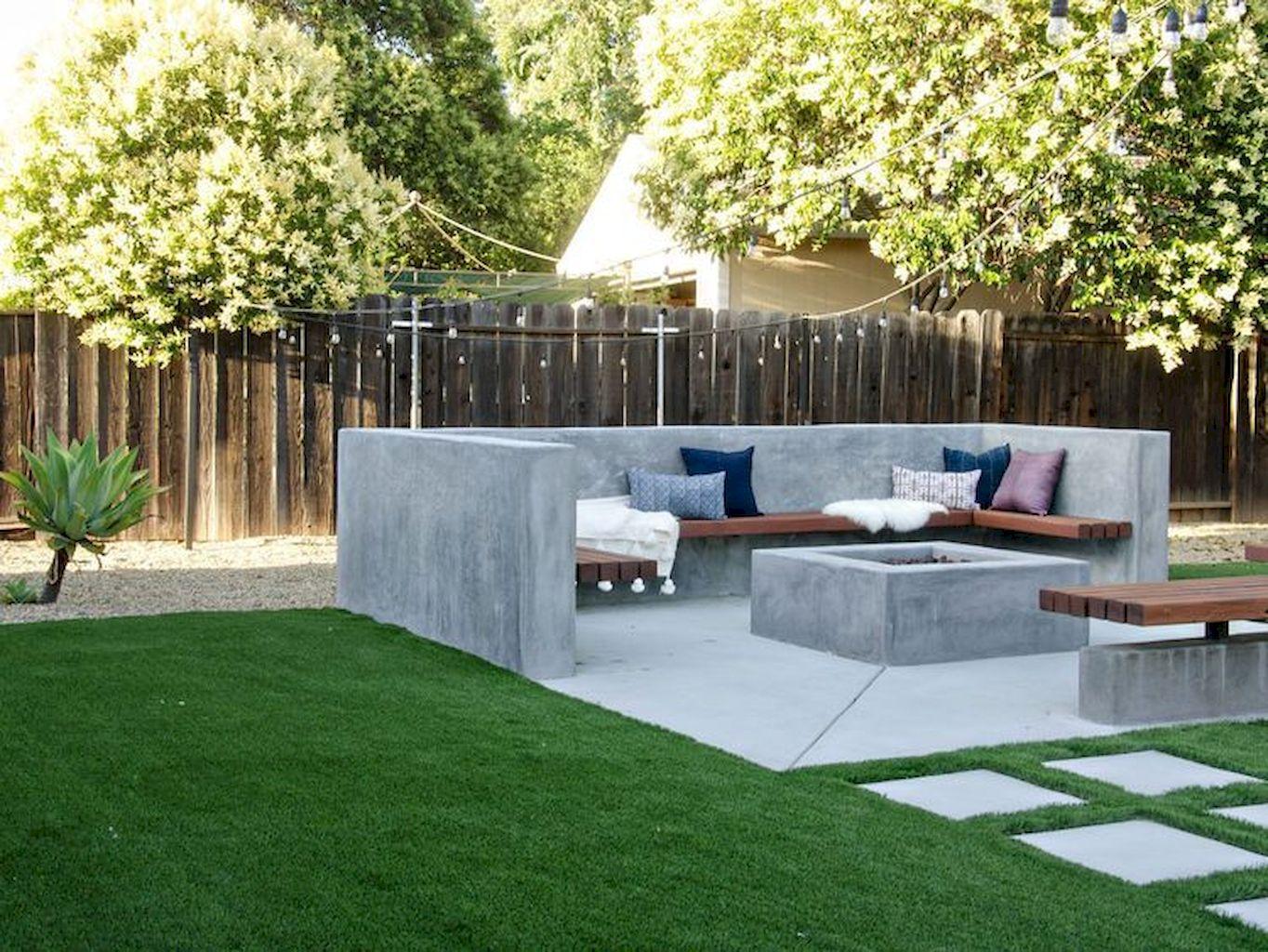 Backyard Fireplace074