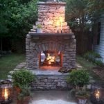 Ultimate Backyard Fireplace Sets The Outdoor Scene 15