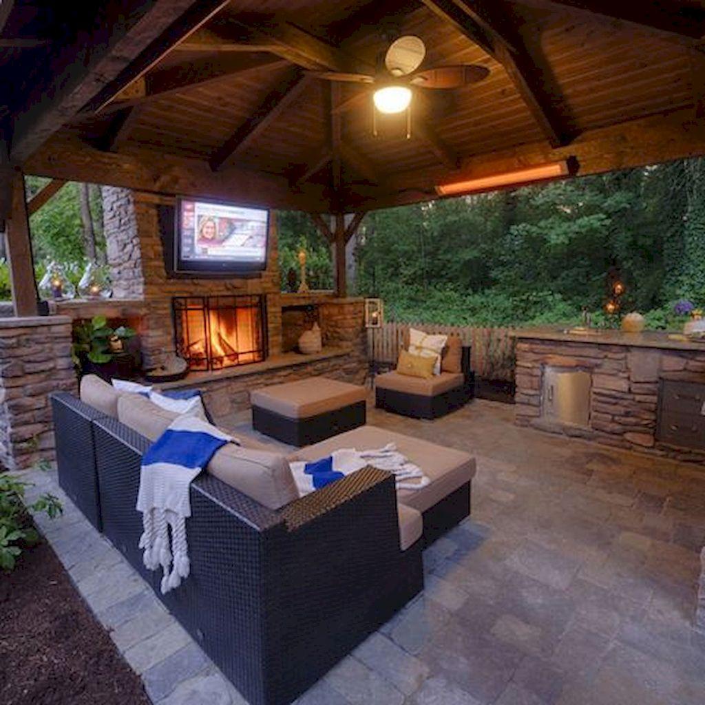 Backyard Fireplace081