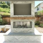 Ultimate Backyard Fireplace Sets The Outdoor Scene 22