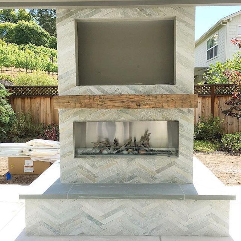 Backyard Fireplace082