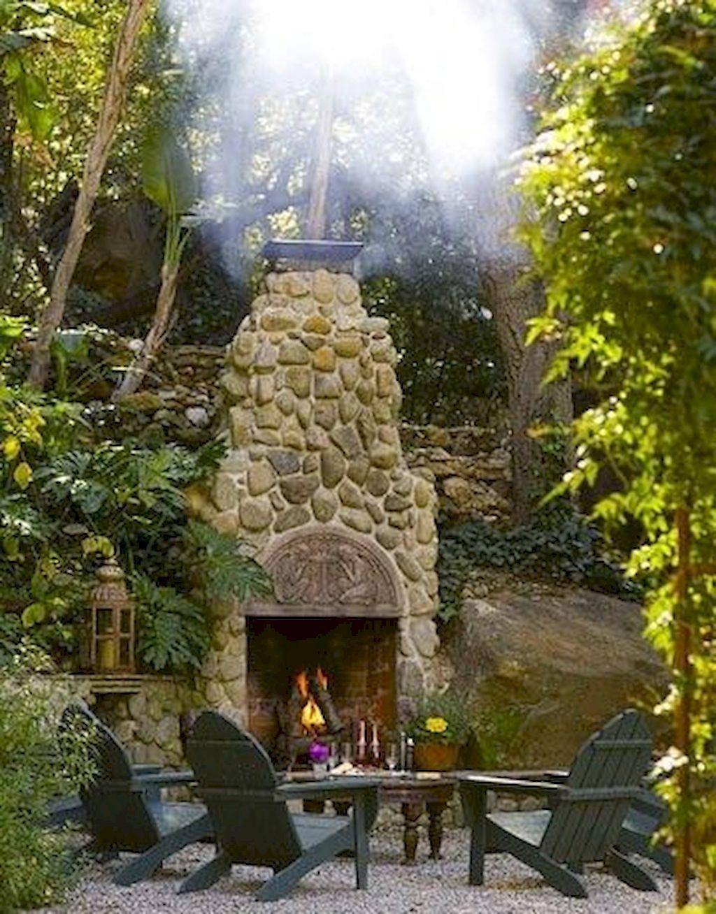 Backyard Fireplace083