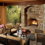 Ultimate Backyard Fireplace Sets The Outdoor Scene 24