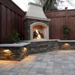 Ultimate Backyard Fireplace Sets The Outdoor Scene 31