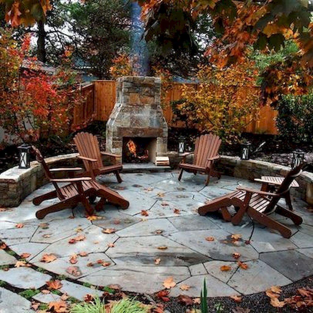 Backyard Fireplace093