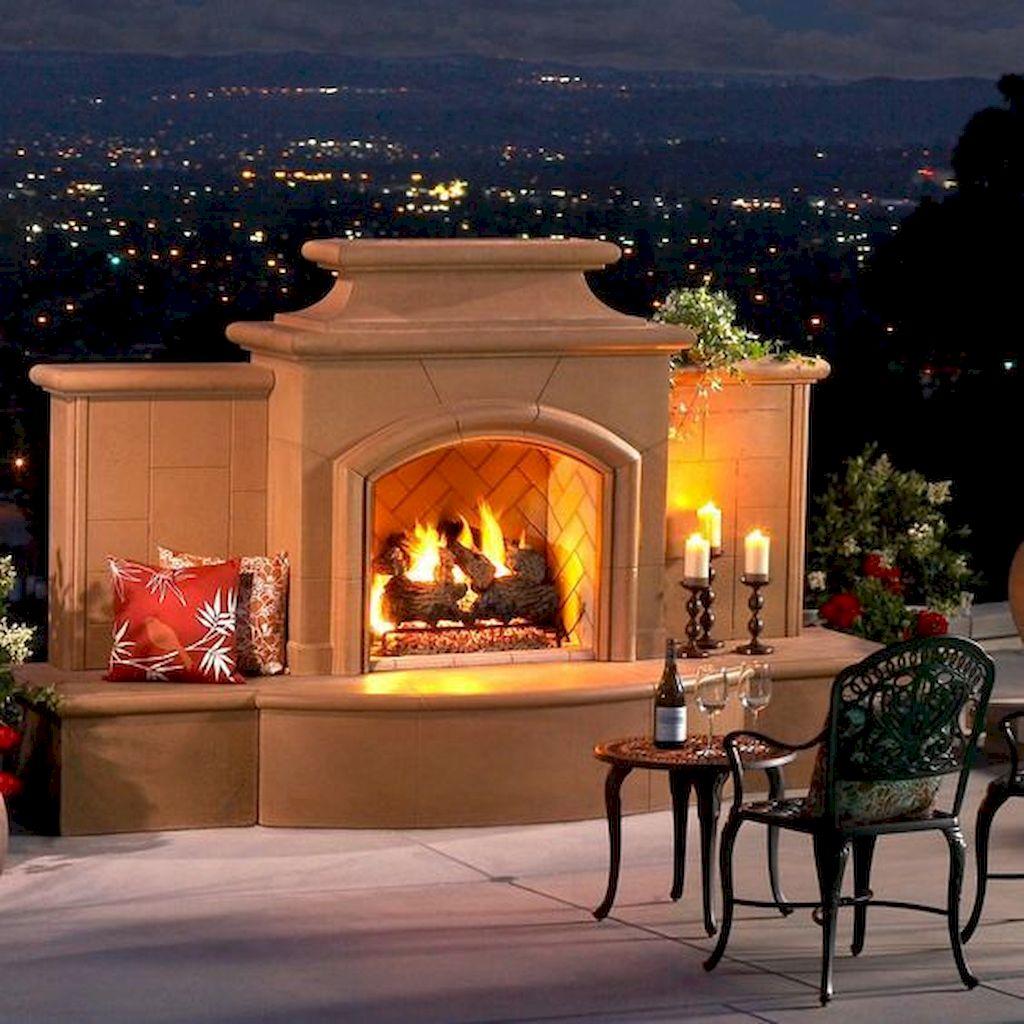 Backyard Fireplace096