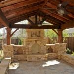 Ultimate Backyard Fireplace Sets The Outdoor Scene 38
