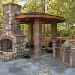 Ultimate Backyard Fireplace Sets The Outdoor Scene 41
