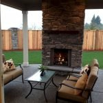 Ultimate Backyard Fireplace Sets The Outdoor Scene 42