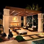 Ultimate Backyard Fireplace Sets The Outdoor Scene 45