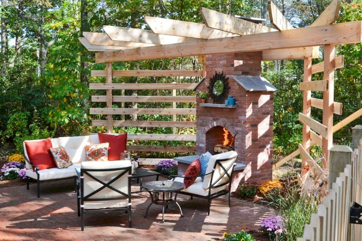 Backyard Fireplace108