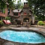 Ultimate Backyard Fireplace Sets The Outdoor Scene 48