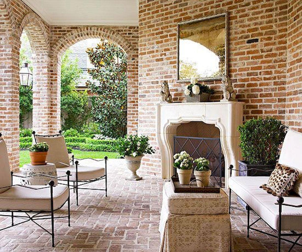 Backyard Fireplace110