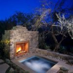 Ultimate Backyard Fireplace Sets The Outdoor Scene 50