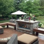 Ultimate Backyard Fireplace Sets The Outdoor Scene 53