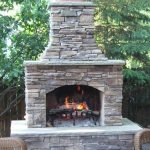 Ultimate Backyard Fireplace Sets The Outdoor Scene 56