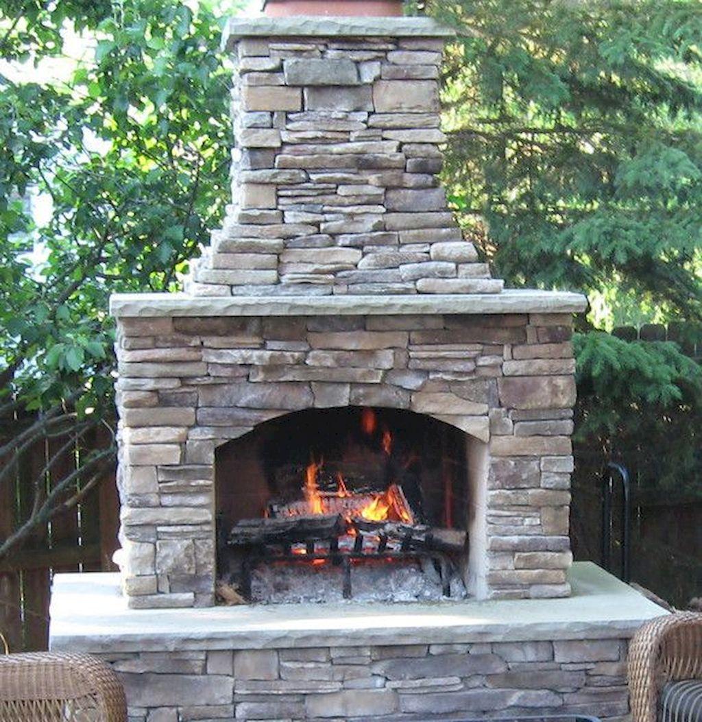 Backyard Fireplace117