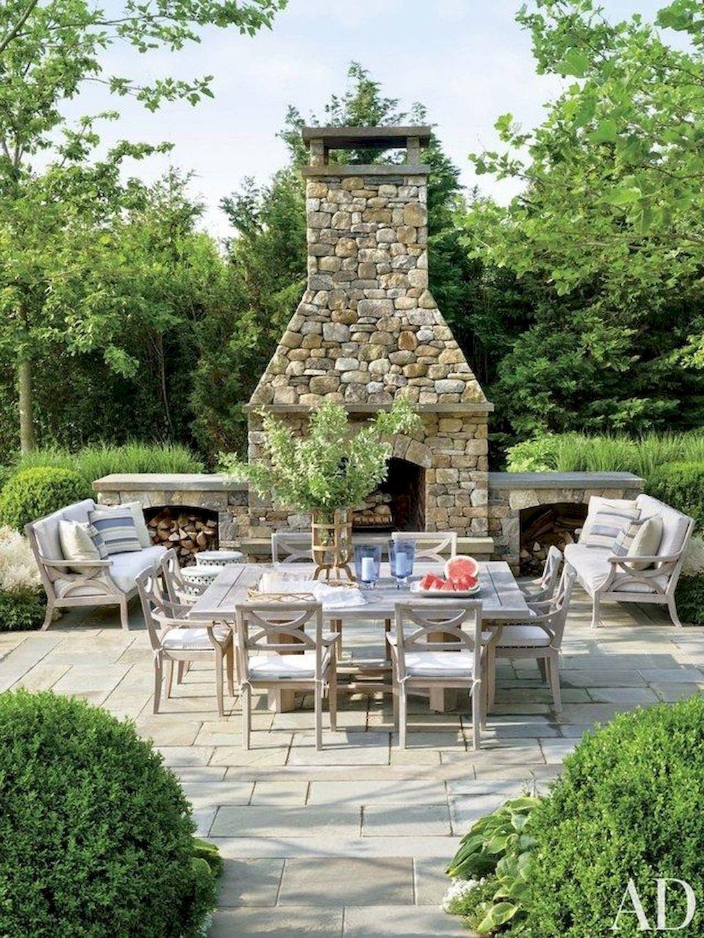 Backyard Fireplace118