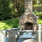 Ultimate Backyard Fireplace Sets The Outdoor Scene 58