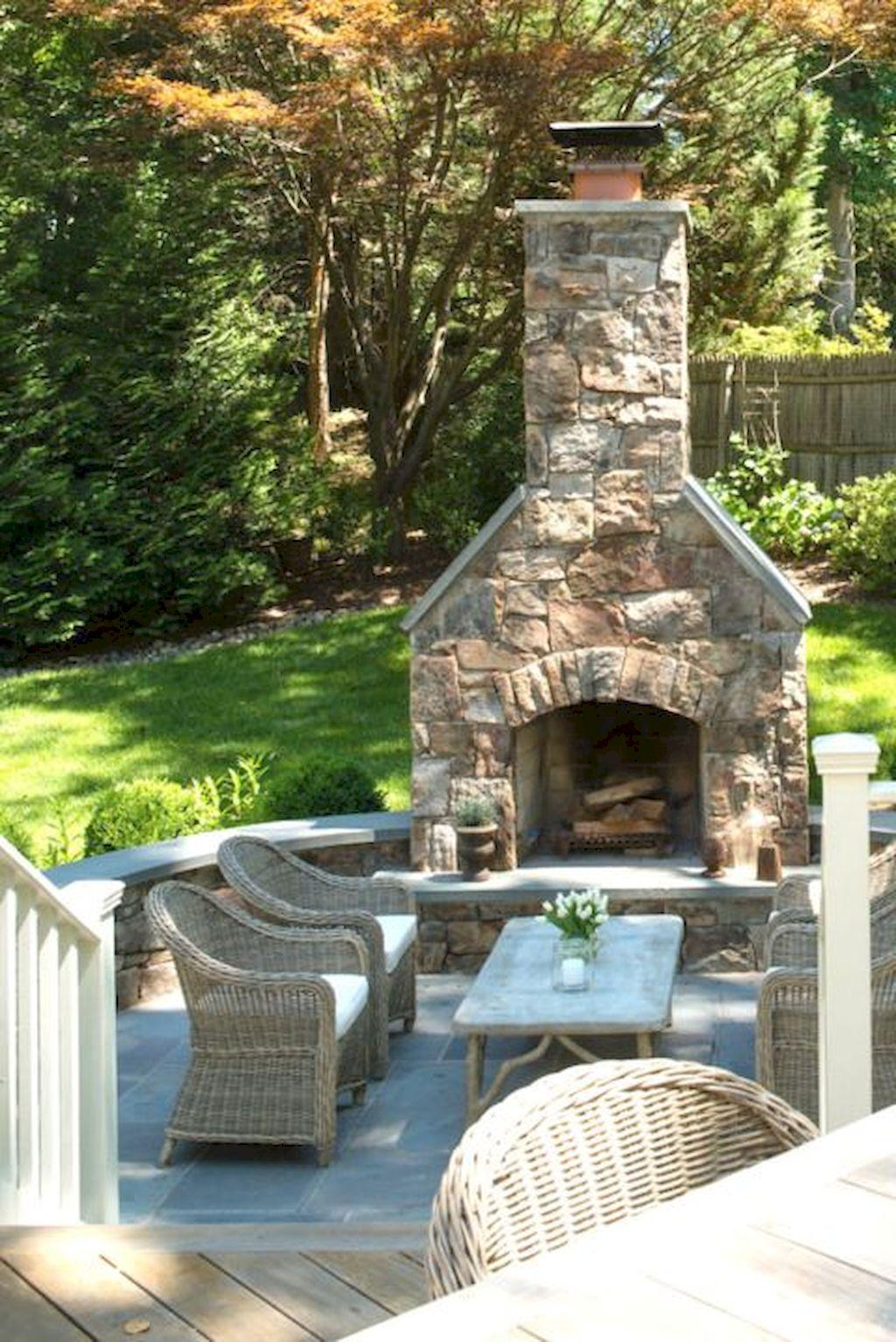 Backyard Fireplace119