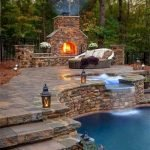 Ultimate Backyard Fireplace Sets The Outdoor Scene 60