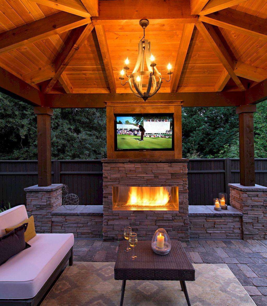 Backyard Fireplace122