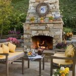 Ultimate Backyard Fireplace Sets The Outdoor Scene 62