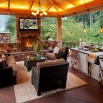 Ultimate Backyard Fireplace Sets The Outdoor Scene 65