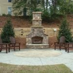 Ultimate Backyard Fireplace Sets The Outdoor Scene 66