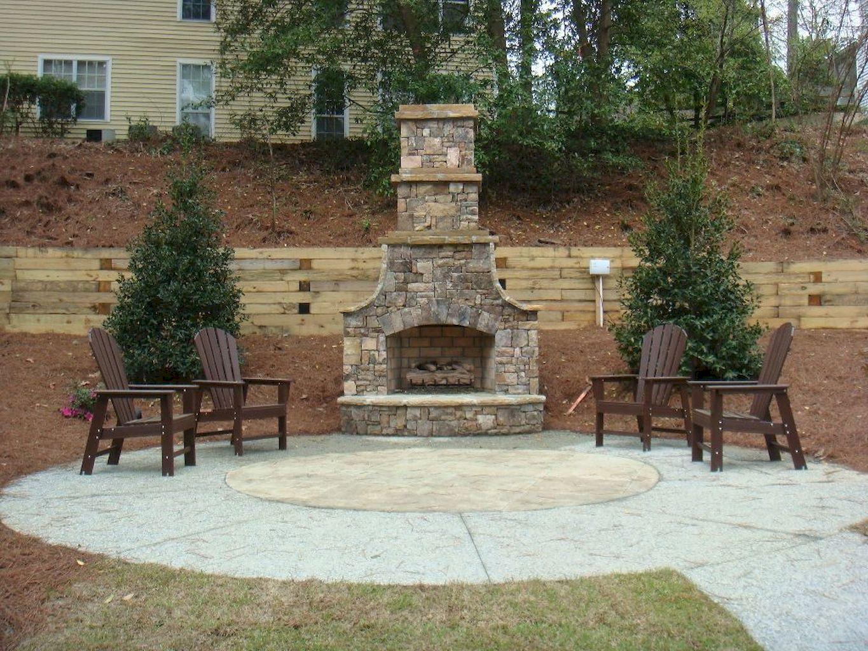 Backyard Fireplace127