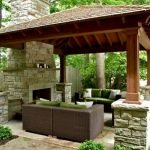 Ultimate Backyard Fireplace Sets The Outdoor Scene 67
