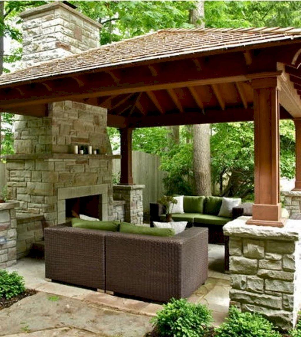 Backyard Fireplace128