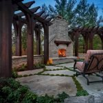 Ultimate Backyard Fireplace Sets The Outdoor Scene 68