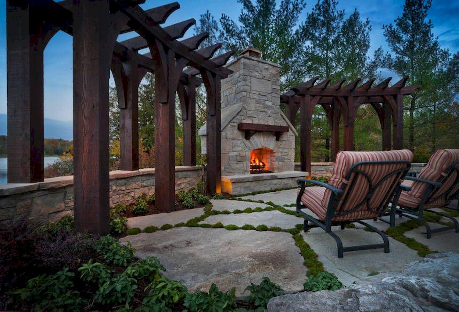 Backyard Fireplace129