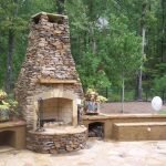 Ultimate Backyard Fireplace Sets The Outdoor Scene 70