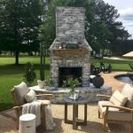Ultimate Backyard Fireplace Sets The Outdoor Scene 72
