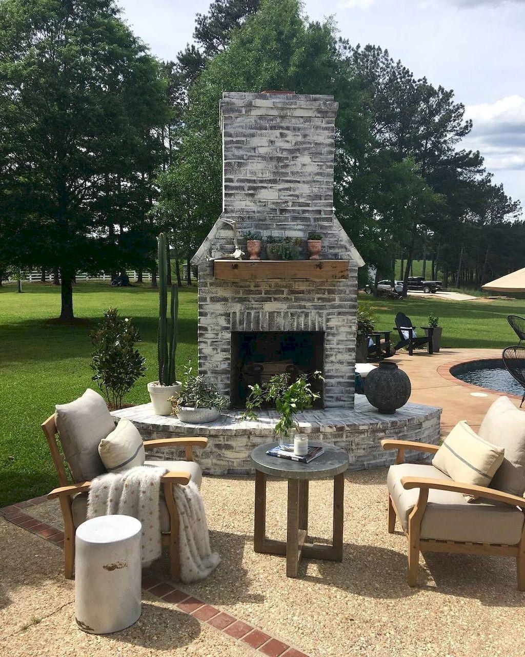 Backyard Fireplace133