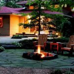 Ultimate Backyard Fireplace Sets The Outdoor Scene 74