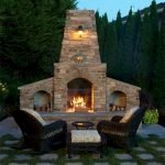 Ultimate Backyard Fireplace Sets The Outdoor Scene 77